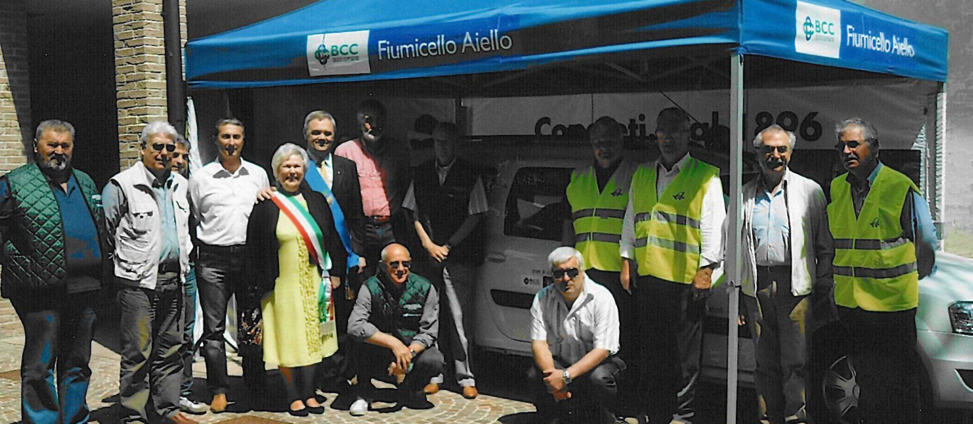Some volunteers Anteas Friuli